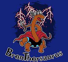 BronTHORsaurus by BoggsNicolasArt