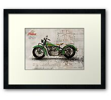 Indian Chief 1935 Framed Print