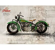 Indian Chief 1935 Photographic Print