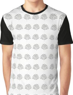 hand drawn cute floral pattern Graphic T-Shirt