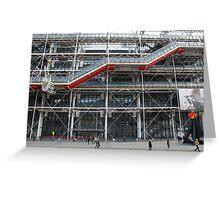 Pompidou Centre, Paris Greeting Card