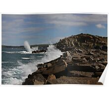 Powerful Swell Poster