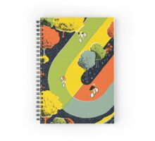 Bicycle race Spiral Notebook
