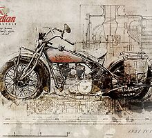 Indian 101 Scout 1931 by Taylan Soyturk