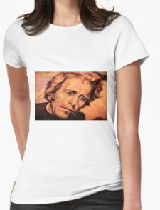 The Elusive President Jackson Womens Fitted T-Shirt
