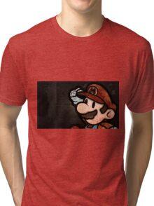 Happy Mario Tri-blend T-Shirt