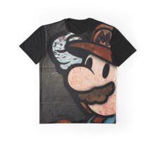 Happy Mario Graphic T-Shirt