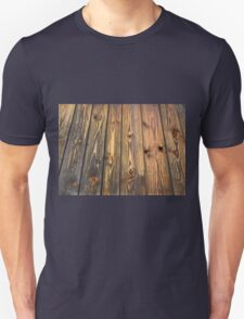 Wood texture background faded old material boards T-Shirt