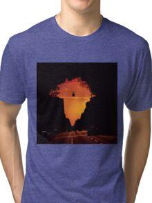 Barcelona to Africa Tri-blend T-Shirt