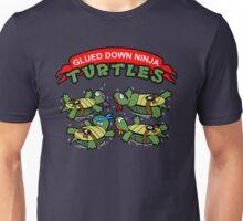 Glued Down Ninja Turtles  Unisex T-Shirt