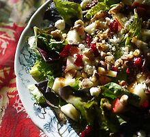 Apple, Cranberry and Walnut Salad by kkmarais