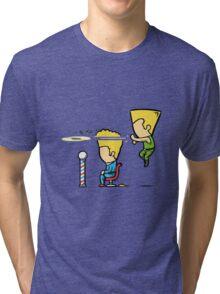Street Haircut Tri-blend T-Shirt
