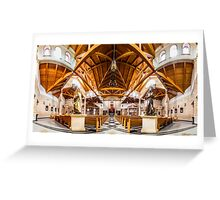 St. Clare of Assisi church 2 Greeting Card