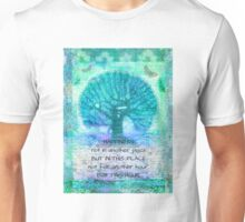 Walt Whitman inspirational happiness quote  Unisex T-Shirt