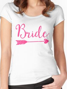 Bride Wedding Quote Women's Fitted Scoop T-Shirt