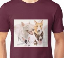 Bull Terrier /Ghost Unisex T-Shirt