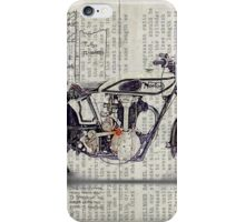 Norton CS 1 1928 iPhone Case/Skin