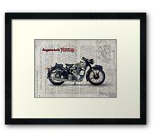 Norton ES 2 1948 Framed Print