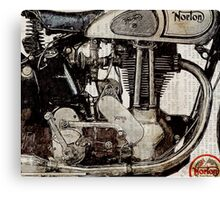Norton ES 2 1948 Canvas Print