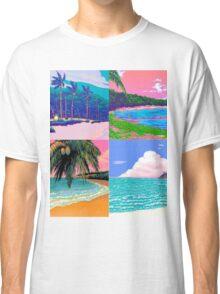 Pixel art Vaporwave Aesthetics Classic T-Shirt