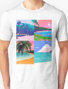 Pixel art Vaporwave Aesthetics Unisex T-Shirt