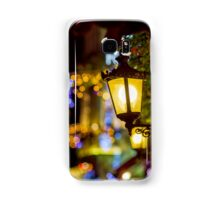 Shop-window and street decoration of Strasbourg before Christmas, prepare for holidays Samsung Galaxy Case/Skin