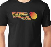 Back to the falcon Unisex T-Shirt