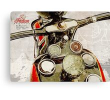 Indian Speedometer Canvas Print