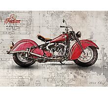 Indian Chief 1946 Photographic Print