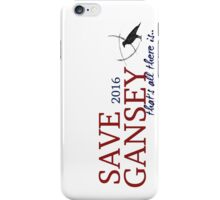 SAVE GANSEY 2016 iPhone Case/Skin