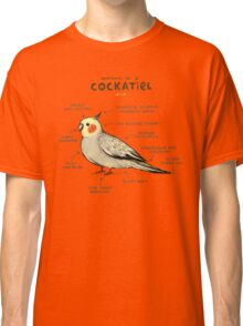 Anatomy of a Cockatiel Classic T-Shirt