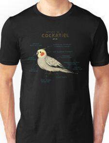 Anatomy of a Cockatiel Unisex T-Shirt