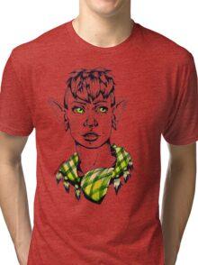 Modern Punk Elf Tri-blend T-Shirt