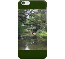 Changdeokgung Secret Garden, South Korea,  Asian Oriental Scene iPhone Case/Skin