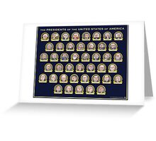 Presidents of the USA Greeting Card