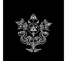 Zelda - Hyrule Symbols Phoenix Bird Photographic Print
