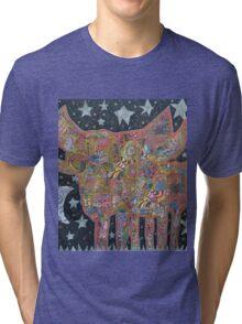 matahoglet takes a midnight stroll Tri-blend T-Shirt