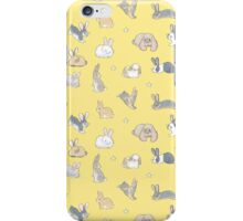 Abundance of buns - yellow iPhone Case/Skin