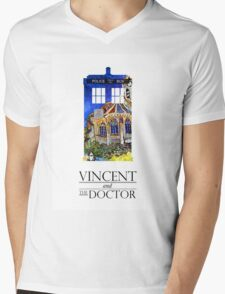 Vincent and the Monster Mens V-Neck T-Shirt