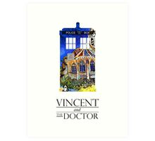 Vincent and the Monster Art Print