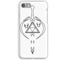 Master Sword Zelda Navi Tael Link Triforce iPhone Case/Skin