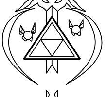Master Sword Zelda Navi Tael Link Triforce by Yophio
