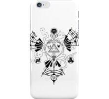 Majora's Mask Zelda Symbols Mashup Triforce iPhone Case/Skin