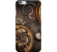 Steampunk - Abstract - Time is complicated iPhone Case/Skin