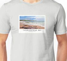 Thurlestone Bay (Railway Poster) Unisex T-Shirt