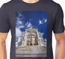 Greek church with marble belfries Unisex T-Shirt