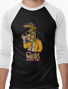 LINK THE MASK Men's Baseball ¾ T-Shirt
