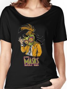 LINK THE MASK Women's Relaxed Fit T-Shirt