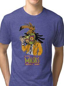 LINK THE MASK Tri-blend T-Shirt