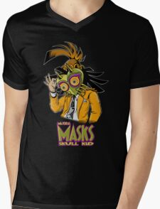 LINK THE MASK Mens V-Neck T-Shirt